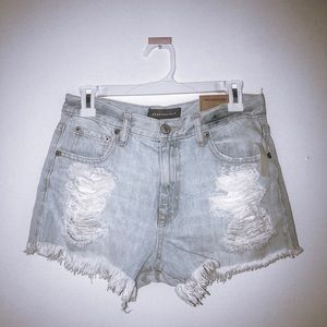 Aeropostale BRAND NEW denim cut off shorts